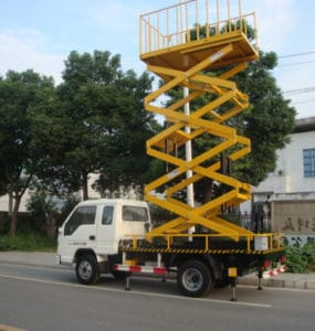 scissor-truck-mounted-lift-rental-service